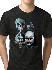 Pixel Until Dawn Tri-blend T-Shirt