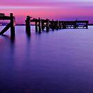 Aberdour Pier...The Blue Hour ( Please View Larger ) by Don Alexander Lumsden (Echo7)