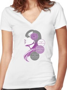 TeamGail Women's Fitted V-Neck T-Shirt