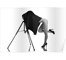 Under the black cloth Poster