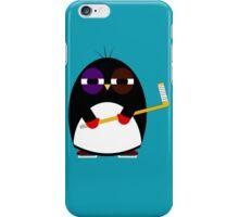 Hockey penguin iPhone Case/Skin