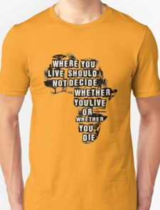Where You Live - Africa T-Shirt