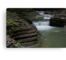 Silky Waterfalls Canvas Print