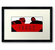 Fargo - We Clean It Up Framed Print