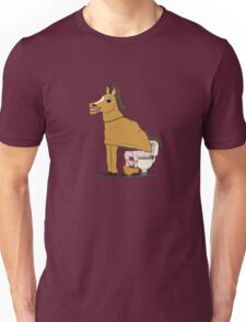 Horse on Toilet T-Shirt