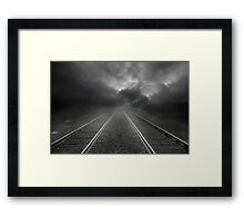 What Lies Ahead?  Framed Print