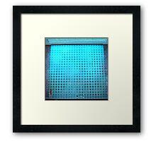 Lightworks projection Framed Print