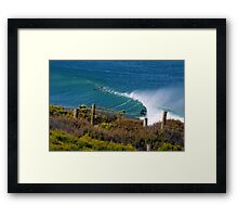Down The Line at Winki Framed Print