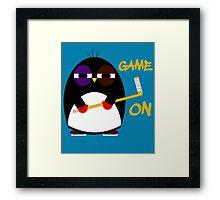 Game on Framed Print