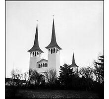 Háteigskirkja Photographic Print