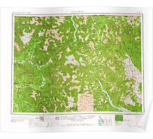 USGS Topo Map Washington State WA Concrete 240634 1958 250000 Poster