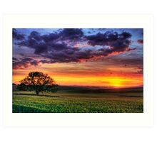 Ceres Sunset Art Print