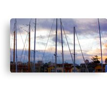 San Francisco Marina Canvas Print