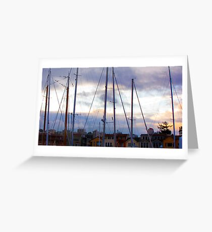 San Francisco Marina Greeting Card