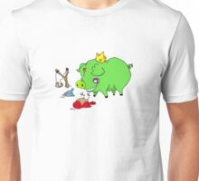 poor angry birds Unisex T-Shirt