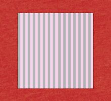 Striped patten in pink and grey  Tri-blend T-Shirt