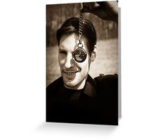 A Time To Die Greeting Card