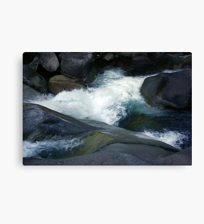 Flowing Waters, Josephine Falls, Tropical FNQ  Canvas Print