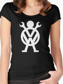 VW Mechanic Women's Fitted Scoop T-Shirt