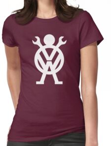 VW Mechanic Womens Fitted T-Shirt