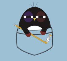 Pocket hockey penguin Baby Tee