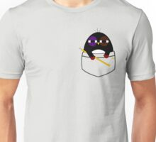 Pocket hockey penguin Unisex T-Shirt