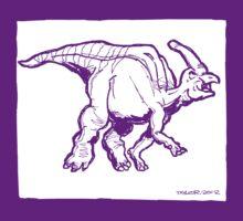 Hadrosaurus by Bret Taylor