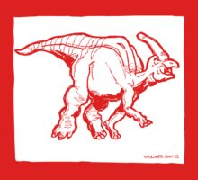 Hadrosaurus One Piece - Short Sleeve