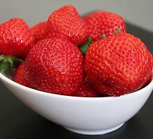 Strawberries :) by vbk70