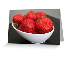 Strawberries :) Greeting Card