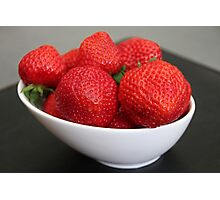 Strawberries :) Photographic Print