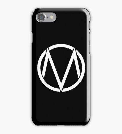 The Maine - Band  Logo White iPhone Case/Skin