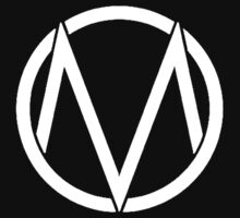 The Maine - Band  Logo White Kids Clothes