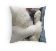 Snuggling Throw Pillow