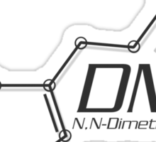 DMT Molecule Sticker