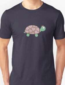 Cute Turtle with hearts and pink ribbon T-Shirt