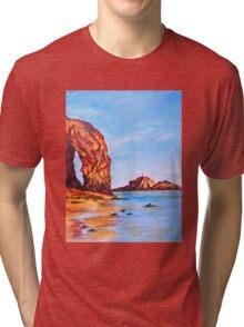Perranporth Tri-blend T-Shirt