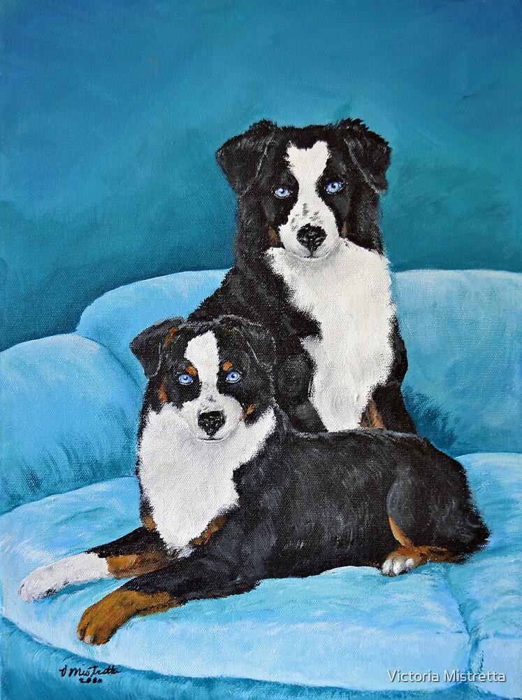 Annie & Lady by Victoria Mistretta