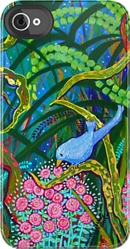 Bluebirds of Happiness by marlene veronique holdsworth