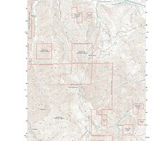 USGS Topo Map Washington State WA Monitor 20110603 TM by wetdryvac