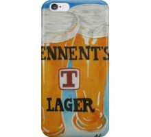 Tennents Lager iPhone Case/Skin
