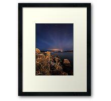Amazing star strees Framed Print