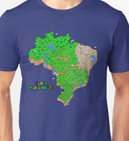 Super Mario Brazil Unisex T-Shirt