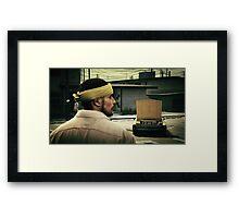 GTA 5 gangster Framed Print