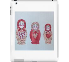 Stitched Russian Dolls iPad Case/Skin