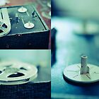 Vintage Blues (triptych) by laruecherie