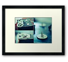 Vintage Blues (triptych) Framed Print