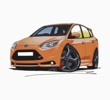 Ford Focus ST (Mk3) Orange by Richard Yeomans