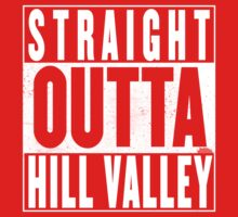 Straight Outta Hill Valley Kids Tee