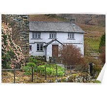 A Walk By Mere,Tarn and Water - The Cottage Near The Tarn Poster